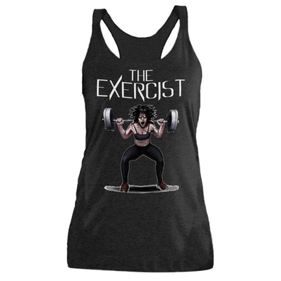 The Ghoulish Garb Tank Top Vintage Black / S The Exercist Women's Racerback Tank