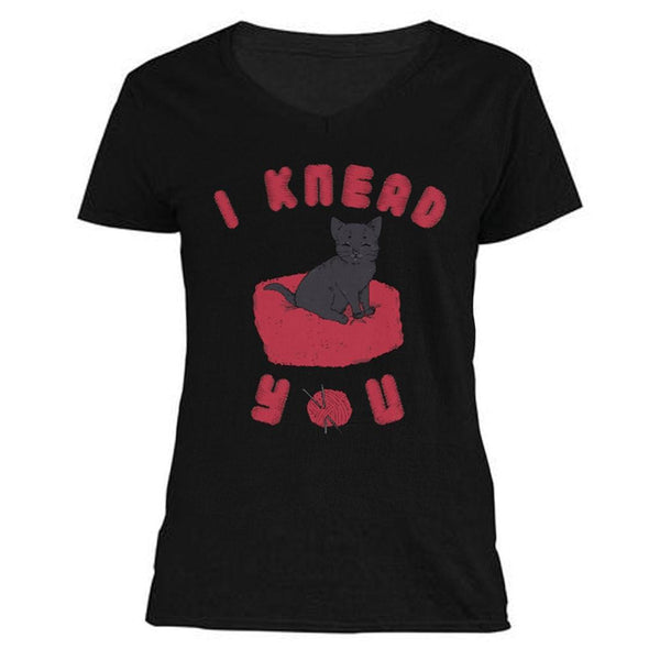 The Ghoulish Garb V-Necks Black / S I Knead You Women's V-Neck