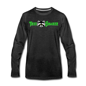 Tree Shaker Long Sleeve T-Shirt - charcoal gray
