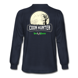 Coon Hunter Long Sleeve T-Shirt - navy