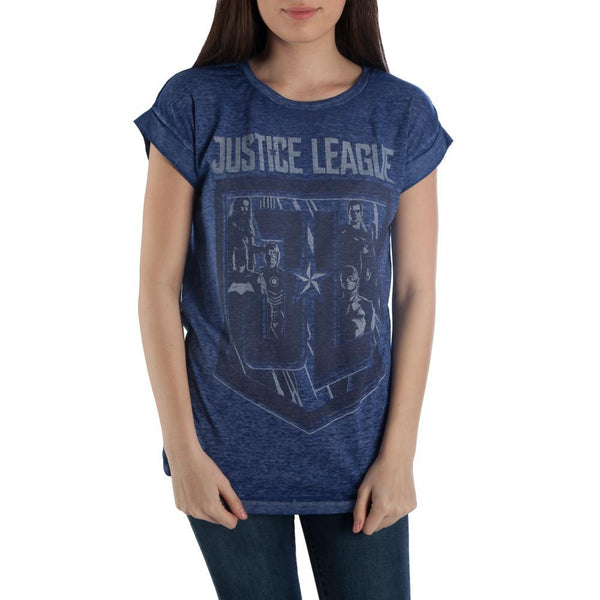 Justice League Shirt Juniors Graphic Tee