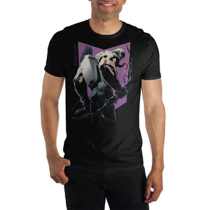 Venom Symbiote Hawkeye With Bow Venomized Shirt For Men