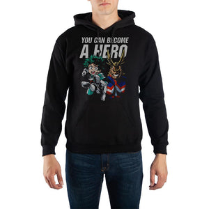 My Hero Academia Pullover Hooded Sweatshirt
