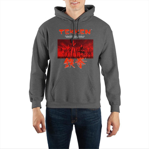 Tekken Pullover Hooded Sweatshirt