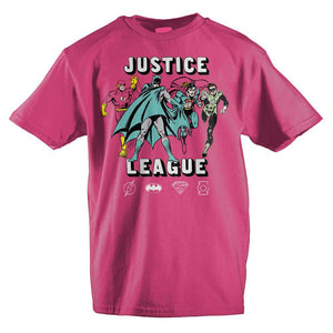 Girls Youth Justice League Clothing Girls Graphic Tee