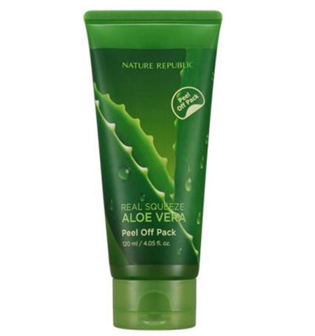 [ Nature Republic ] Real Squeeze Aloe Vera Peel Off Pack