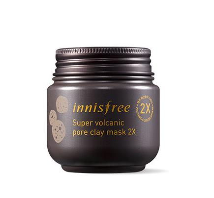 [ INNISFREE ] Pore clearing clay mask with super volcanic cluster face mask