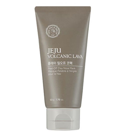 [ THE FACE SHOP ] Jeju Volcanic LAVA Peel Off Clay Nose Mask