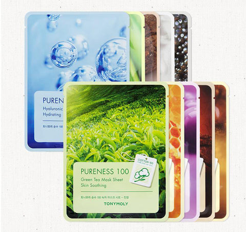 [ TONYMOLY ] Pureness 100 Mask Sheet 10 Treatment