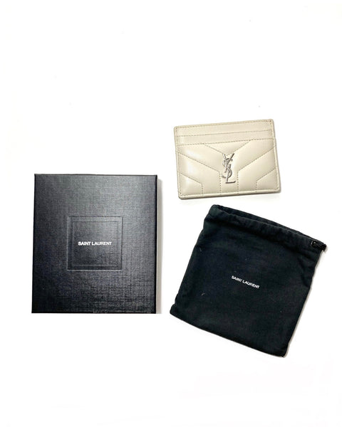 Smooth Leather Card Holder