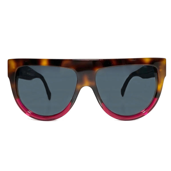 Acetate Aviator Tortoise Sunglasses