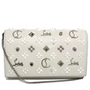 Calfskin Leather Paloma Clutch