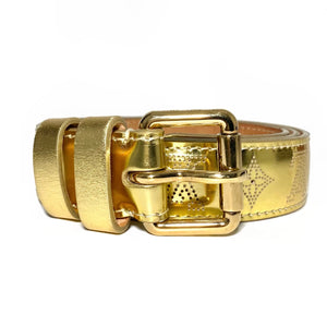 Gold Monogram Belt