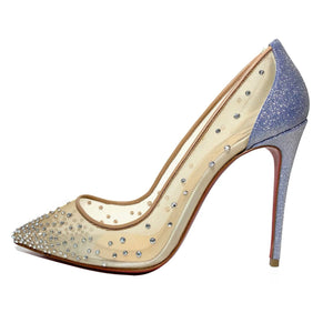Rete Glitter Strass Follies 100 Pumps 37