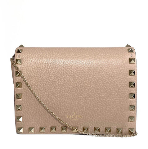 Mini Leather Rockstud Crossbody