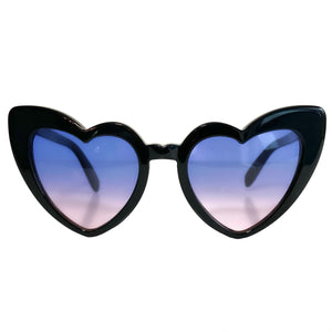 Acetate Heart Sunglasses