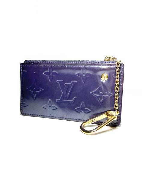 Monogram Patent Leather Pouch