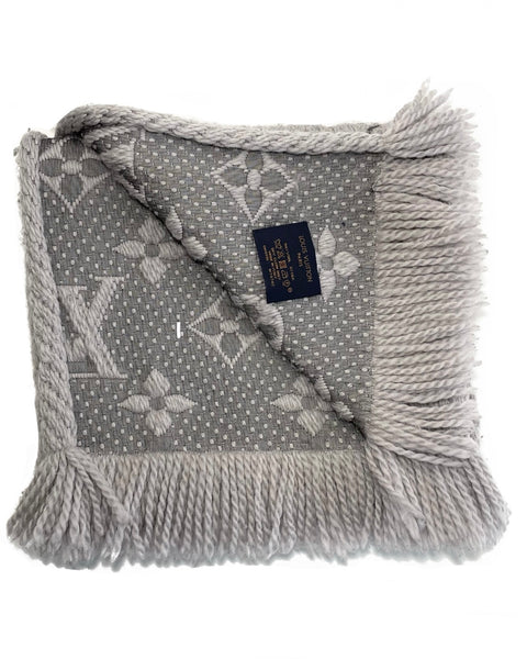 Wool Logomania Winter Scarf
