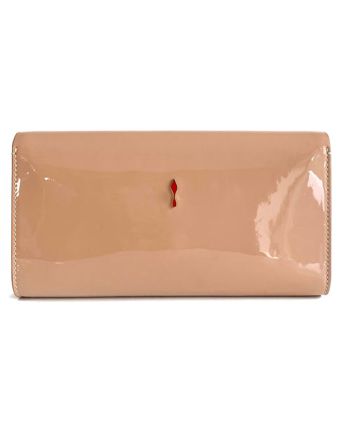 Patent Leather Vero Dotat Clutch