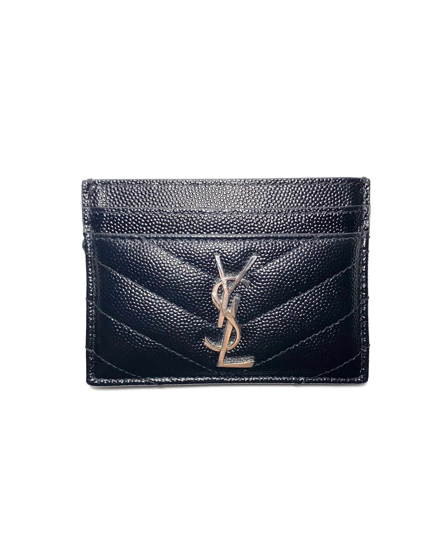Monogram Matelassé Leather Card Holder