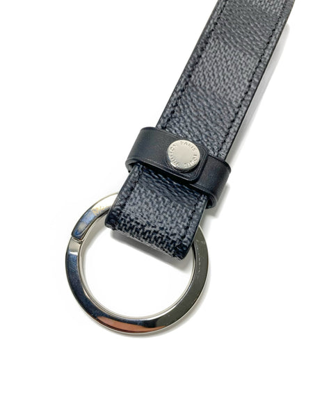 Damier Graphite Dragonne Key holder