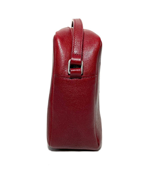 Lou Calfskin Leather Camera Bag