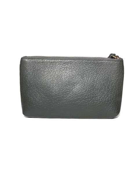 Leather Wristlet Pouch
