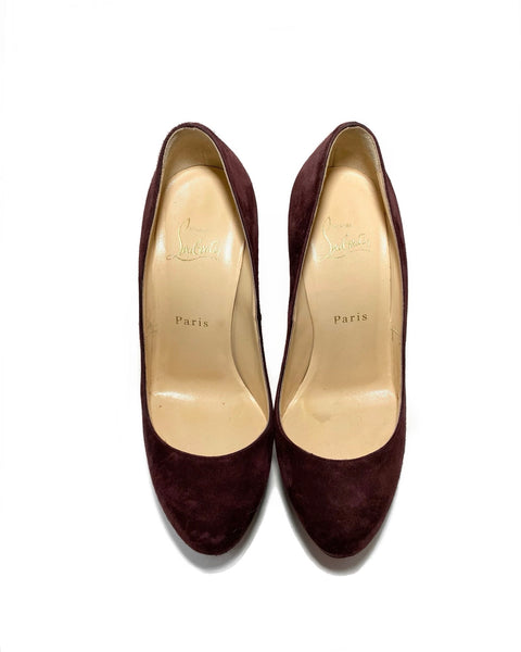 Suede Leather Bianca 130 Pumps 36