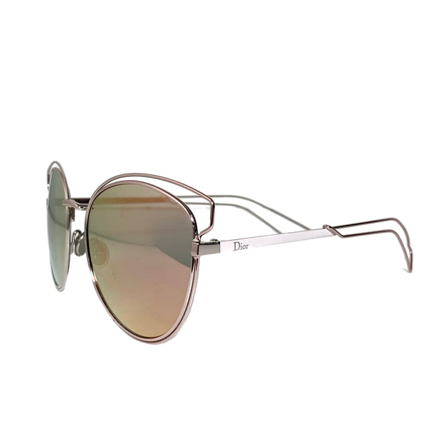 Sideral Rose Gold Metal Sunglasses