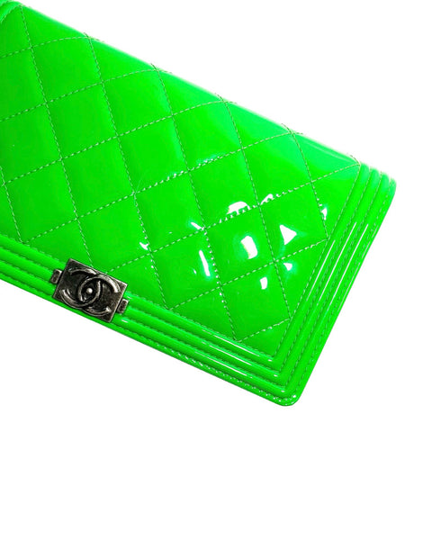 Patent Leather Boy Wallet