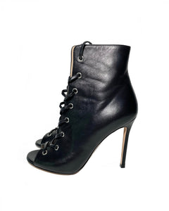 Calfskin Leather Marie Bootie 36.5