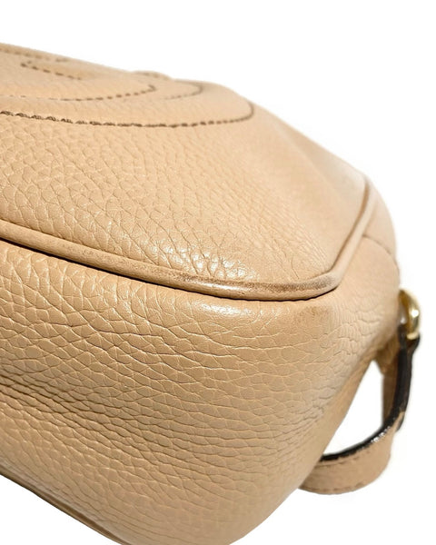 Pebbled Calfskin Small Soho Disco Bag