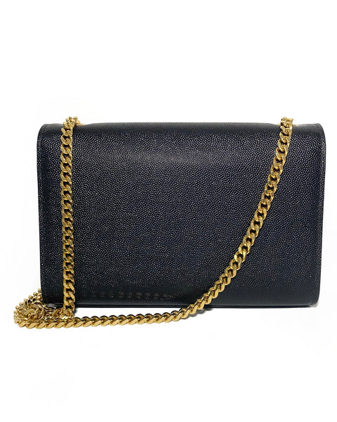 Grain Leather Small Kate Satchel