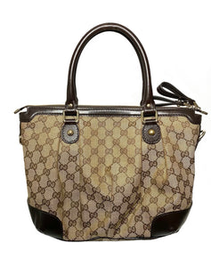 Monogram Canvas Small Tote