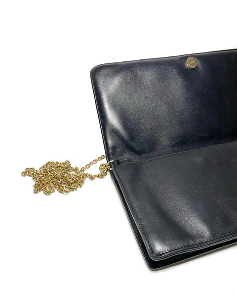 Lady Dior Cannage Lambskin Clutch