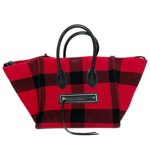 Wool Medium Tartan Phantom Luggage Bag