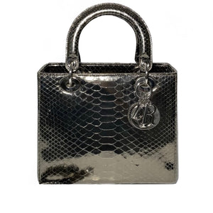 Metallic Python Small Lady Dior