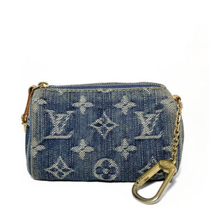 BB Speedy Denim Coin Pouch