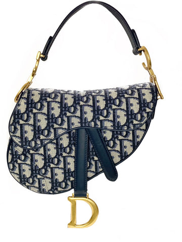 Monogram Oblique Mini Saddle Bag