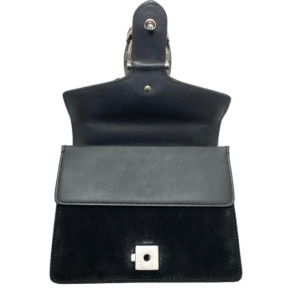 Suede Dionysus Shoulder Bag