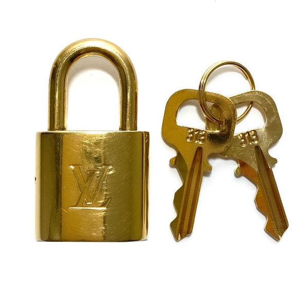 Brass Lock and Keys Set #313