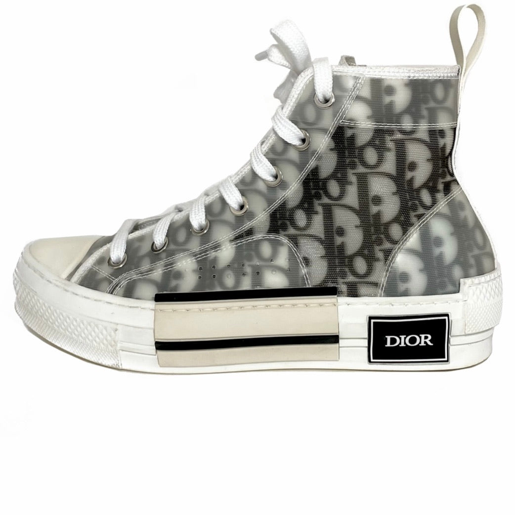 B23 Oblique High Top Sneakers 36