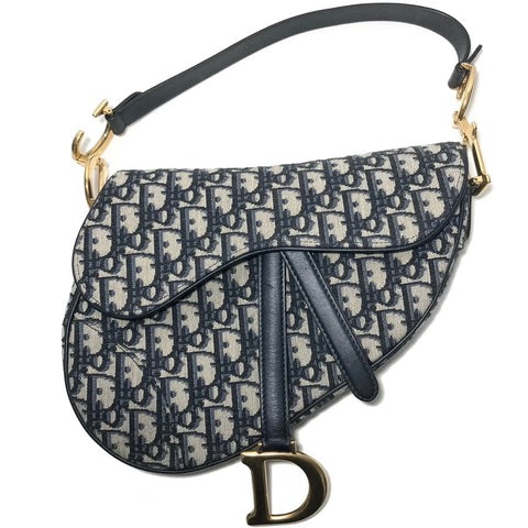 Monogram Oblique Saddle Bag
