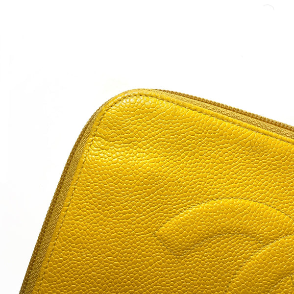 Caviar Leather Enveloppe Clutch