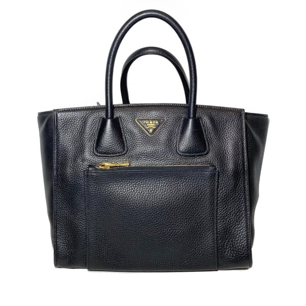 Leather Vitello Daino Tote