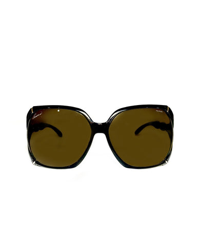 Bamboo Oversized Sunglasses