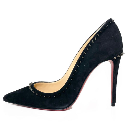 Veau Velours Studded Anjalina 100 Pumps 35.5