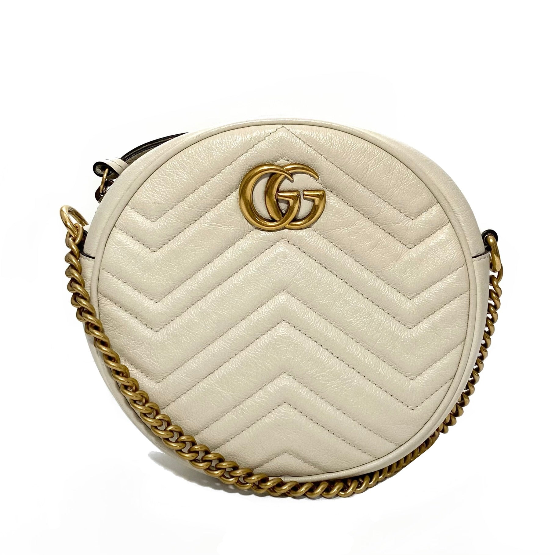 Marmont Mini Round Shoulder Bag