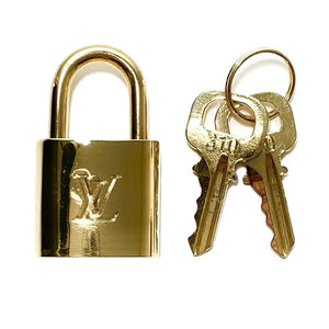 Brass Lock and Keys Set #310