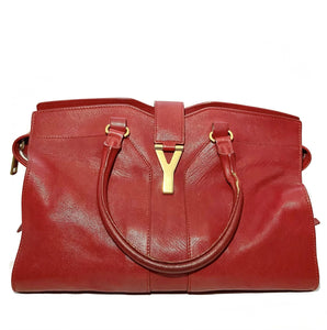 Calfskin Leather Chyc Cabas Tote